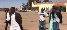 الأمن المركزي أوباري يؤمن مطار أوباري المدني