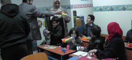 وفد بلدي سوق الجمعة يزور مدرسة روح العطاء