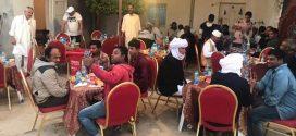 جمعية بادو البيئة تقيم مأدبة إفطار لعمال مكتب النظافة زوارة