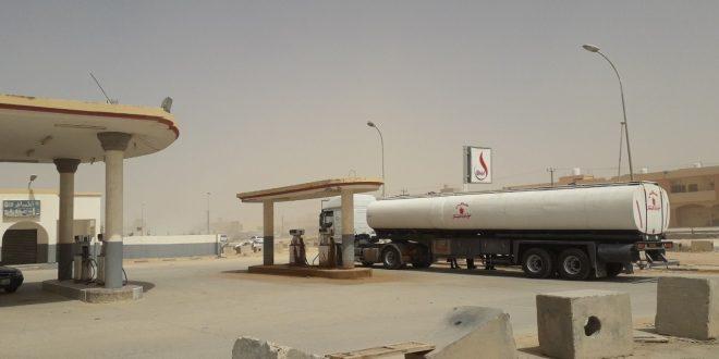 شحنات من الوقود تصل بني وليد