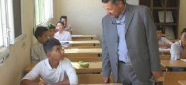 أعضاء من بلدي زوارة فى زيارة تفقدية للجان أمتحانات النقل بالبلدية