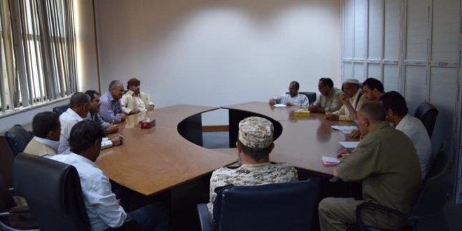 الإمداد المائي لمدينة سرت محور لقاء قيادات مدنية وعسكرية