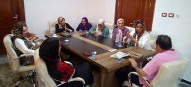 رئيس هيئة دعم الصحافة يجتمع  بأسرة تحرير صحيفة فبراير