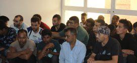 مديرية أمن زوارة تضبط 28 مهاجراً غير شرعي في المدينة