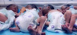 ولادة 4 تؤام بمستشفى إبن سينا التعليمي سرت
