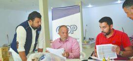 في آحر إحصائية  عدد النازحين ببلدية القره بوللي بلغ 1300 عائلة