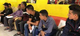 دورة تدريبية لتعليم الحلاقة ببلدية رقدالين
