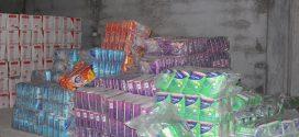 توزيع إعانات للنازحين بقصر الأ خيار
