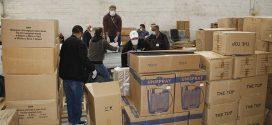 الوطنية للنفط توفر شحنة معدات طبية ثالثة للمساعدة في مجابهة فيروس كورونا