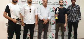 اللجنة الاولمبية الليبية تتوج العرادي بكأس كرة القدم الاستعراضية