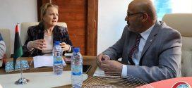 النجار يبحث مع الصحة العالمية آلية التنسيق لمكافحة كورونا